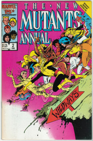 New Mutants Annual #2 VF Front Cover