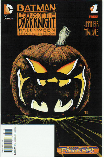 Batman LOTDK Halloween Special #1 NM Front Cover