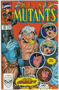 New Mutants #87 VF/NM Front Cover