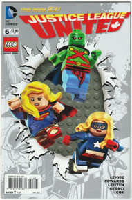 Justice League United #6 NM Lego Variant Front Cover