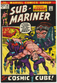 Sub Mariner #49 VF/NM Front Cover