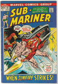 Sub Mariner #52 VG Front Cover