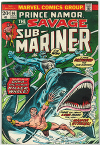 Sub Mariner #66 FN Front Cover