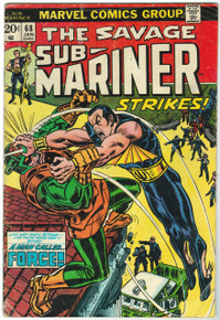 Sub Mariner #68 GD Front Cover