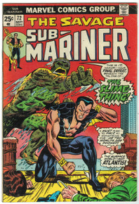 Sub Mariner #72 VG Front Cover