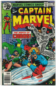 Captain Marvel #61 FN Front Cover
