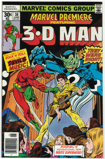 Marvel Premiere #36 VF/NM Front Cover