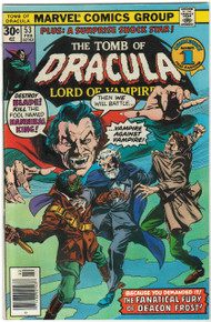 Tomb of Dracula #53 VF/NM Front Cover