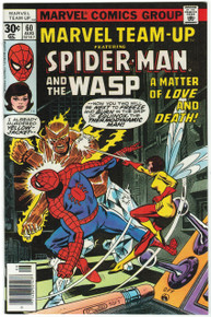 Marvel Team Up #60 VF/NM Front Cover