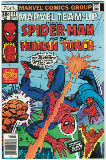 Marvel Team Up #61 VF/NM Front Cover