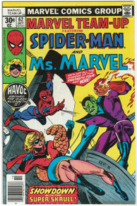 Marvel Team Up #62 VF/NM Front Cover