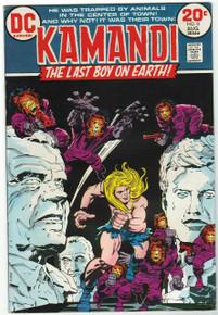 Kamandi, The Last Boy on Earth #8 Very Fine/Near Mint