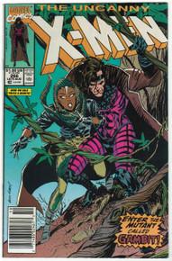 Uncanny X-Men #266 VF/NM Front Cover