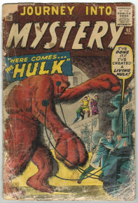 Journey Into Mystery #62 PR Front Cover