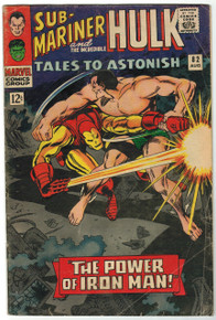 Tales to Astonish #82 GD Front Cover