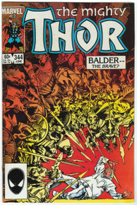 Thor #344 VF/NM Front Cover