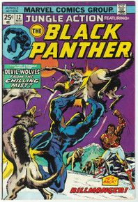 Jungle Action #12 VG Front Cover