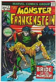 Frankenstein #2 VF/NM Front Cover