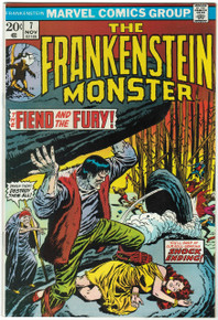 Frankenstein #7 VF/NM Front Cover