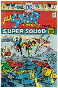 All Star Comics #58 FN Front Cover