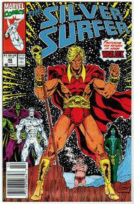 Silver Surfer #46 VF/NM Front Cover