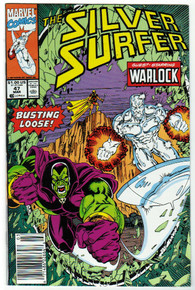 Silver Surfer #47 VF/NM Front Cover
