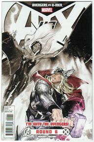Avengers Vs X-Men #6 Avengers Var NM Front Cover