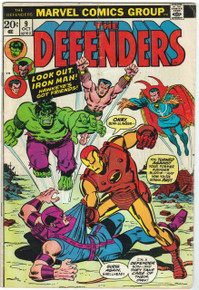 Defenders #9 VG Front Cover
