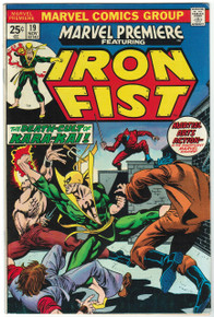 Marvel Premiere #19 FN Front Cover