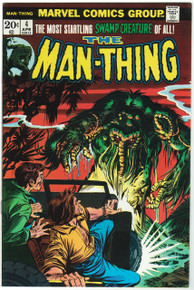Man Thing #4 VF/NM Front Cover