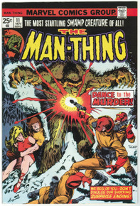 Man Thing #11 VF/NM Front Cover