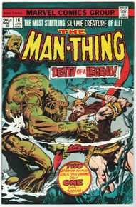 Man Thing #16 VF/NM Front Cover