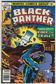 Black Panther #11 VG Front Cover