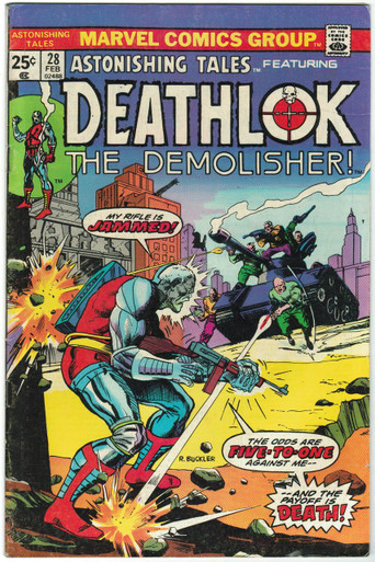 Astonishing Tales #28 FN Front Cover