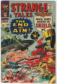 Strange Tales #149 FN/VF Front Cover