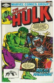 Incredible Hulk #271 VF 1st Rocket Raccoon in Comics!