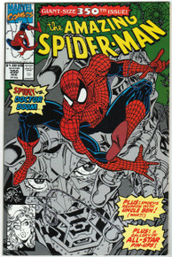 Amazing Spider Man #350 VF Front Cover