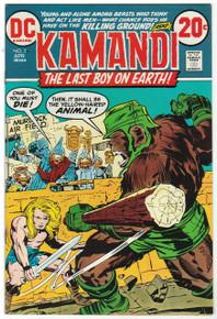 Kamandi, The Last Boy on Earth #5 Very Fine/Near Mint