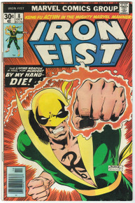 Iron Fist #8 VG Front Cover