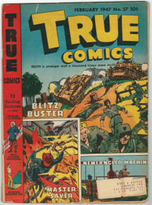 True Comics #57 GD Front Cover