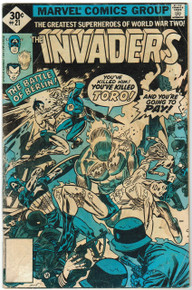 The Invaders #21 Good