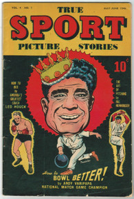 True Sport Picture Stories Vol 4 #7 GD Front Cover