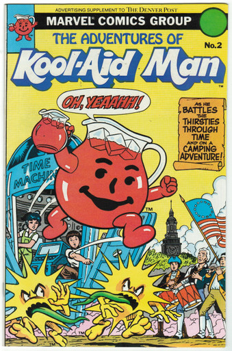 Adventures of Kool Aid Man #2 VF/NM Front Cover