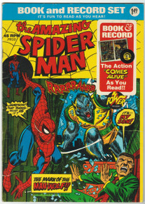 Amazing Spider Man PR-10 Book and Record Set Front Cover