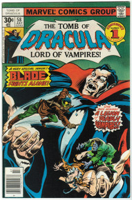 Tomb of Dracula #58 VF/NM Front Cover