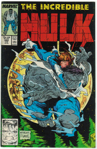 Incredible Hulk #344 VF/NM Front Cover