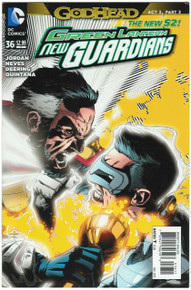 Green Lantern New Guardians #36 NM Front Cover