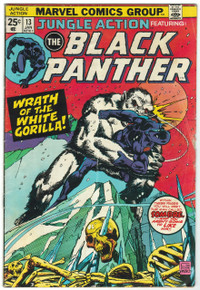 Jungle Action #13 VG Front Cover