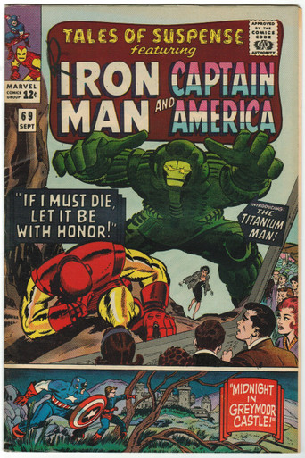 Tales of Suspense #69 VF Front Cover