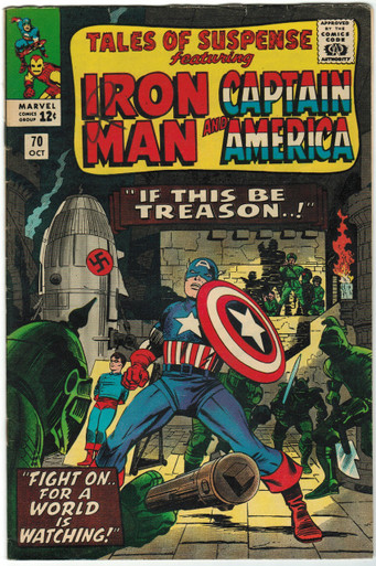 Tales of Suspense #70 VF Front Cover